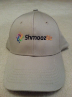 ShmoozBiz Embroidered Logo Baseball Cap