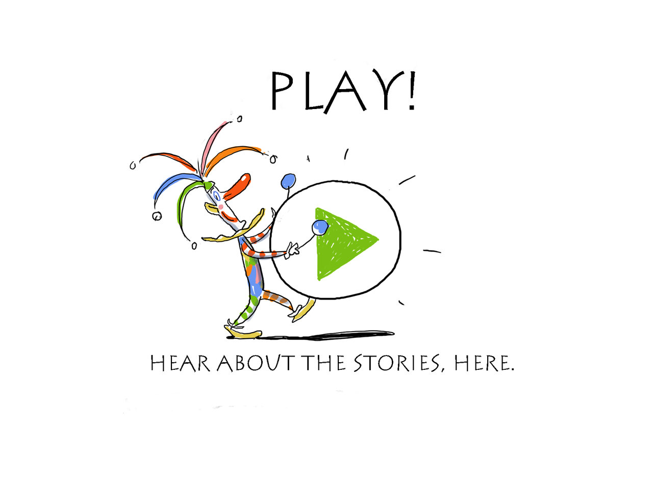 Kid's art an story book described on Kickstarter
