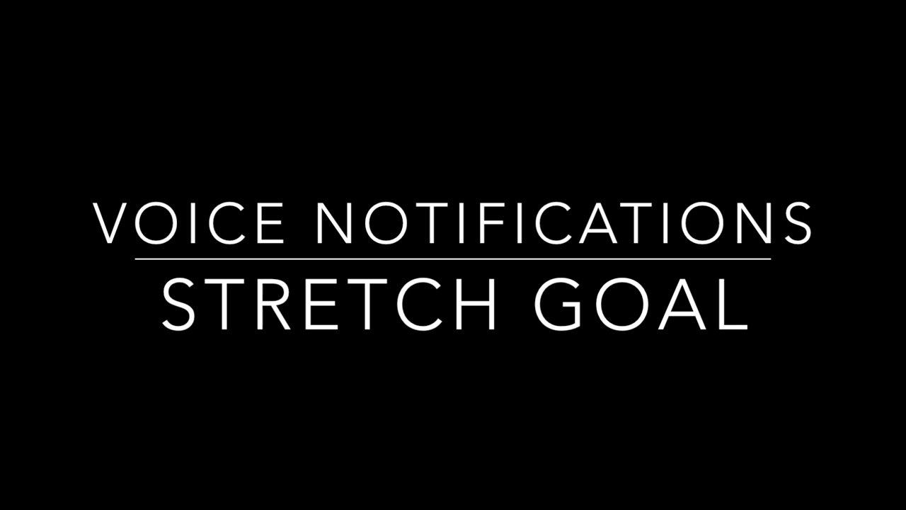 Lightfreq Voice notifications